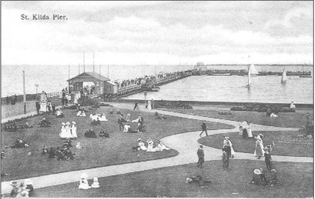 St Kilda Pier 1906